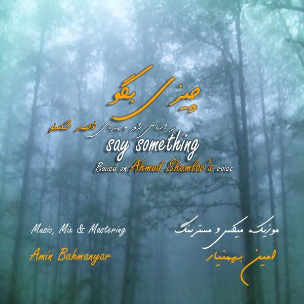 Amin Bahmanyar   Say Something - دانلود آهنگ جدید امین بهمن یار چیزی بگو