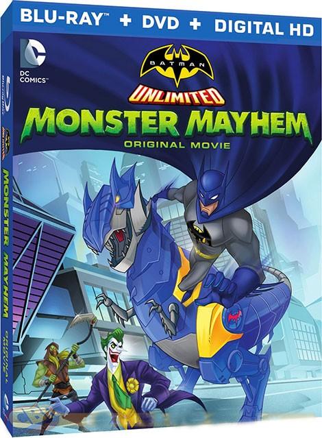 آونگ موزیک دانلود دوبله فارسی انیمیشن Batman Unlimited: Monster Mayhem 2015