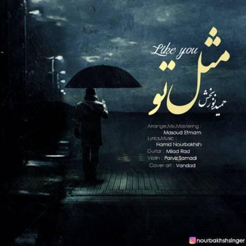 Hamid Nourbakhsh - دانلود آهنگ جدید حمید نور بخش بنام مثل تو