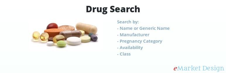 آونگ موزیک دانلود افزونه Drug Search (جستجوی مواد مخدر)