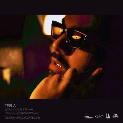 Taham Tesla 400x400 - دانلود آهنگ جدید  تهم بنام  تسلا