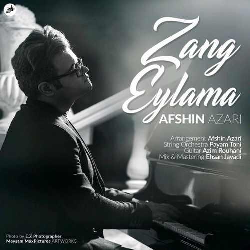 download 3 4 - دانلود آهنگ جدید افشین آذری بنام زنگ ایلمه