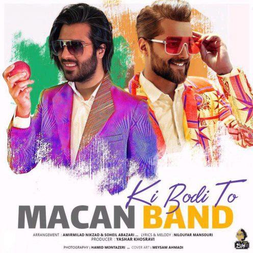 Macan Band Ki Boodi To 496x496 - دانلود آهنگ جدید ماکان بند بنام  کی بودی تو