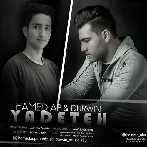 Hamed Ap Ft Durwin Yadeteh 500x500 - دانلود آهنگ جدید حامد ای پی و دوروین بنام یادته