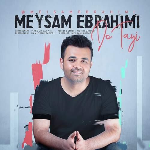 download 32 500x499 - دانلود آهنگ جدید میثم ابراهیمی بنام دوتایی