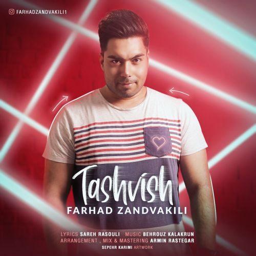Fardah Zandvakili Tashvish 500x500 - دانلود آهنگ جدید فرهاد زندوکیلی بنام تشویش