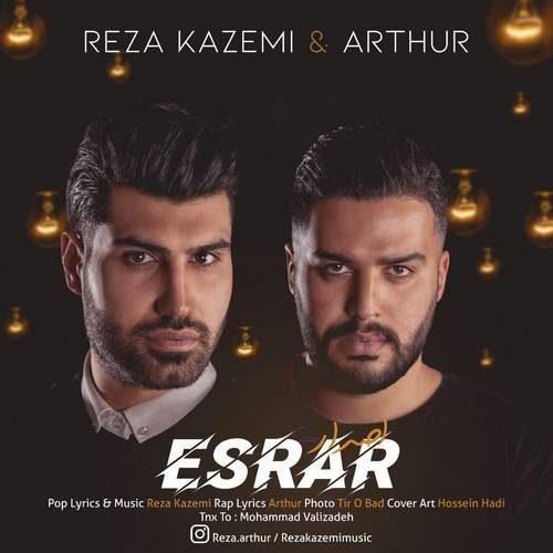 Reza Kazemi Esrar Ft Arthur 500x500 - دانلود آهنگ جدید رضا کاظمی و آرتور بنام اصرار