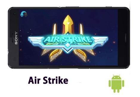 Air Strike Cover - دانلود Air Strike 1.5.10 - بازی آرکید برخورد هوایی برای اندروید