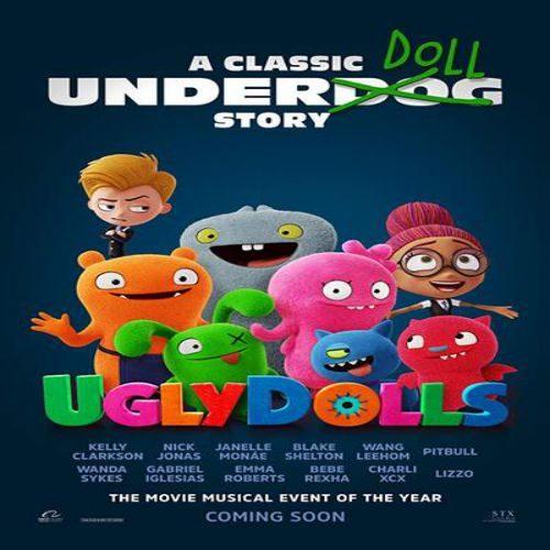UglyDolls 2 500x500 - دانلود انیمیشن عروسک های زشت ۲۰۱۹ دوبله فارسی UglyDolls