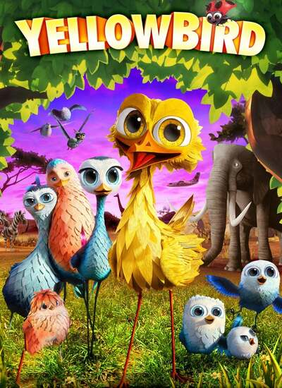 Yellowbird - دانلود انیمیشن پرطلا ۲۰۱۴ دوبله فارسی Yellowbird