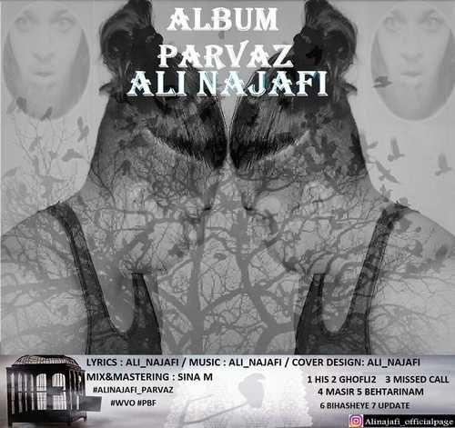 Ali Najafi 500x471 - دانلود آلبوم جدید علی نجفی بنام پرواز