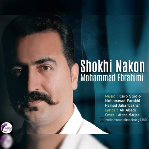 mohammad ebrahimi shokhi nakon 2019 08 17 22 03 08 - دانلود آهنگ جدید محمد ابراهیمی بنام شوخی نکن