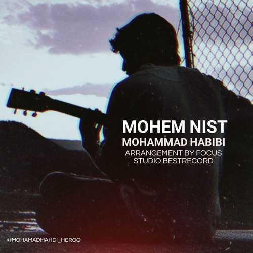 دانلود آهنگ جدید محمد حبیبی بنام مهم نیست