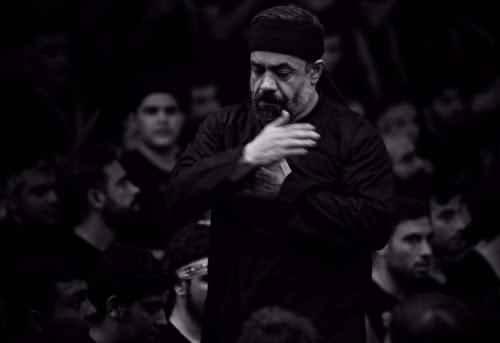 دانلود نوحه جدید محمود کریمی بنام  یک طرف اکبر به میدان میرود