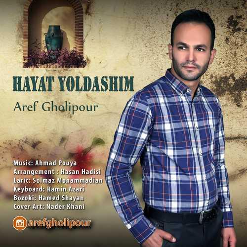 دانلود آهنگ جدید عارف قلیپور بنام حایات یولداشیم