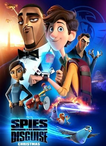 Spies in Disguise 364x500 - دانلود انیمیشن جاسوسان نامحسوس Spies in Disguise 2019