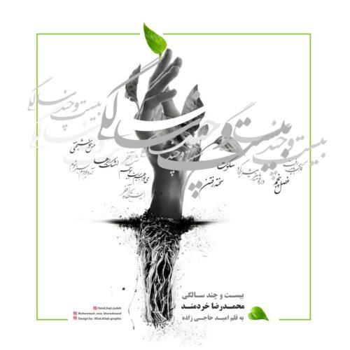 دانلود آلبوم جدید محمدرضا خردمند به نام بیست و چندسالگی