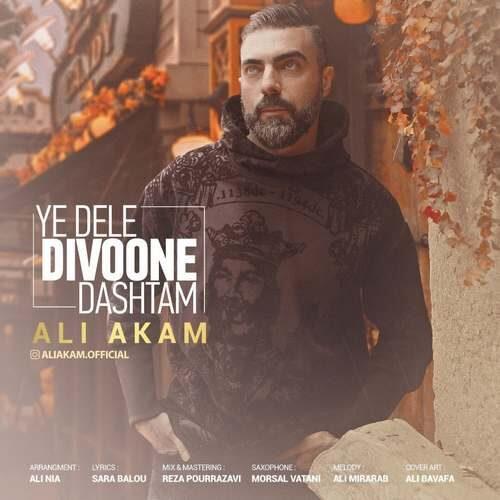 دانلود آهنگ جدید علی اکام به نام دلِ دیوونه داشتم