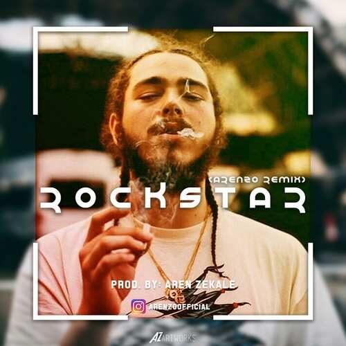 دانلود آهنگ جدید پست مالون به نام راکستار ( ارنزو ریمیکس)