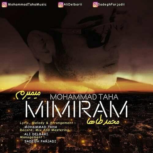 دانلود آهنگ جدید محمد طاها به نام میمیرم
