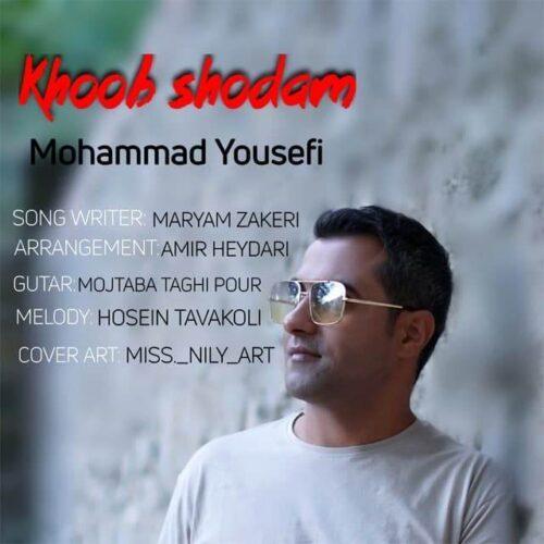 دانلود آهنگ جدید محمد یوسفی به نام خوب شدم